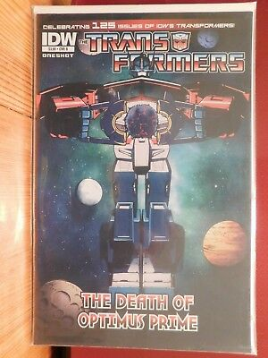 Transformers, The Death Of Optimus Prime, Issue #1 Cover B, Near Mint, Idw