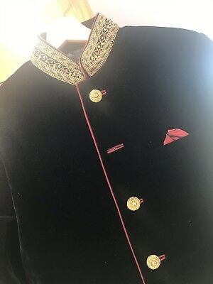 mens black sherwani