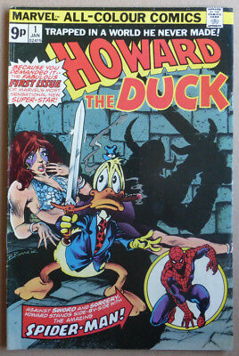 HOWARD THE DUCK #1, with SPIDER-MAN CAMEO!!! FN+