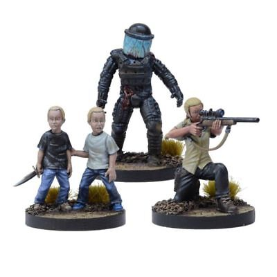 Mantics 28mm (1/56 Echelle) The Walking Dead Andrea, Prison Sniper Booster