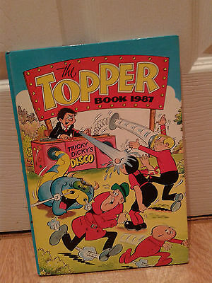 The Topper Book Annual 1987 in mint condition *** Unclipped ***