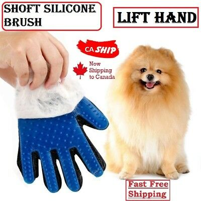 Pet Dog Cat Cleaning Brush Magic Glove Massage Hair Removal Grooming Groomer CA