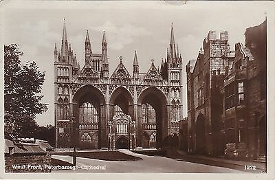 West Front Of Cathedral, PETERBOROUGH, Cambridgeshire RP