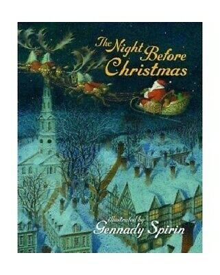 The Night Before Christmas by Gennady Spirin Paperback Book The Cheap Fast Free