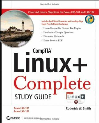 CompTIA Linux+ Complete Study Guide (Exams LX... by Smith, Roderick W. Paperback