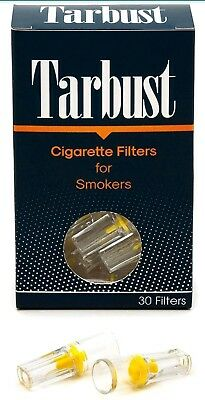TarBust Disposable Cigarette Filters -  30 Filters - Buy 4 get 1 free - wrapped