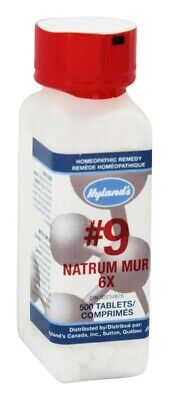 Hylands - Cell Salts #9 Natrum Muriaticum 6 X