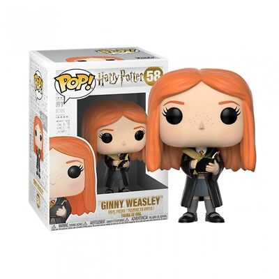 Funko Pop Harry Potter Ginny Weasley With Diary #58 Vinyl Figure Toy Doll New