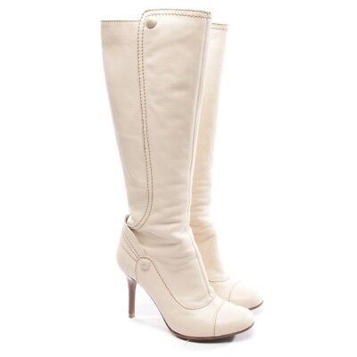 ACNE BOTTINES TAILLE D 37 Blanc Chaussures Femmes Star Bottes ... c198fcd06ad