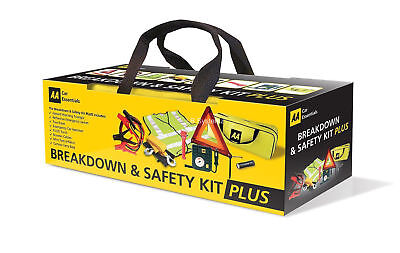 AA Car / Van Essential Travel Emergency Breakdown and Safety Travelling Kit Plus