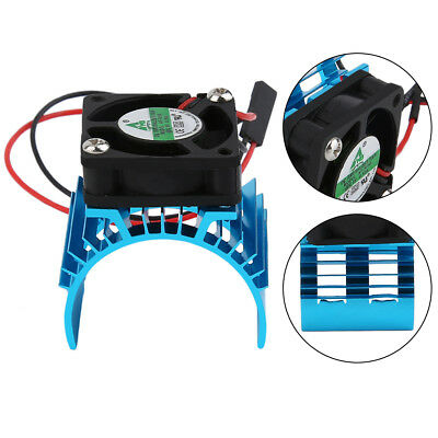 Durable Motor Heatsink And Fan Cooling Aluminum Electric Engine RC HSP Model G0