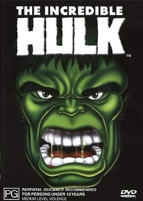 The Incredible Hulk (DVD, 2003) Region 4 Used in Very Good Condition Free Post!