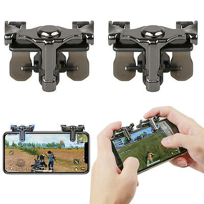 Game Shooter Controller Mobile Phone Gaming Trigger Fire Button Handle for PUBG