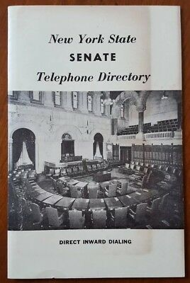 1966 New York State Senate Telephone Directory