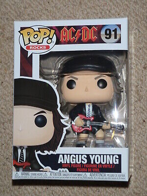 Funko pop Angus Young  AC/DC Rocks   For those about to Pop!  WE SALUTE YOU