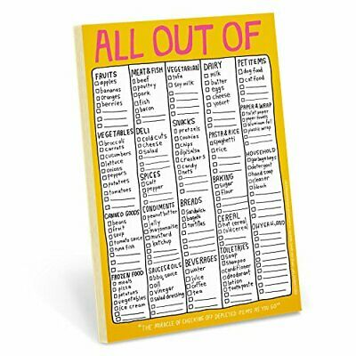 Hand Lettered Pad: All Out of by Knock Knock Book The Cheap Fast Free Post
