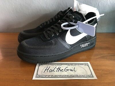 competitive price 178ca 2d510 Nike x Off White Air Force 1 Black DSWT - US9 UK8 EUR42,5