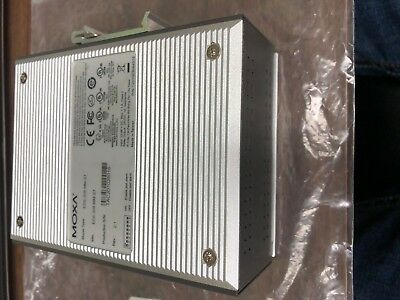MOXA EDS-308-MM-ST Industrial Unmanaged Ethernet EtherDevice Switch EDS-308
