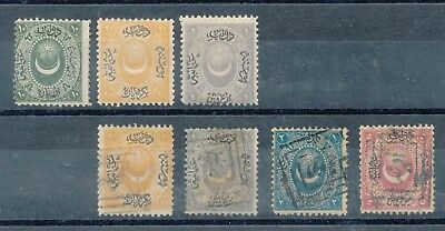 Turkey 1865 issues S-18856
