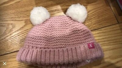 Joules Baby Hat 0-6 Months