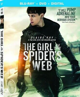 The Girl In The Spider's Web: A New Dragon Tattoo Story [New Blu-ray] With DVD