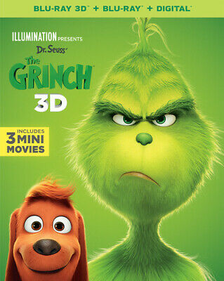 Dr. Seuss' The Grinch [New Blu-ray] With Blu-Ray, 2 Pack, 3D, Digital Copy