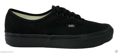 2a9ce83b8965a9 VANS Authentic All Black Shoes Canvas Women Classic Fashion Sneakers  VN000EE3BKA