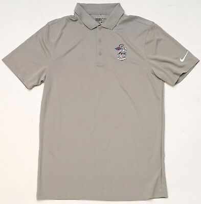 2a3a9104 NEW Disney Cruise Line 2016 Men's Nike Golf Standard Fit Grey Polo Size S/M