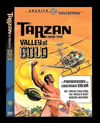 Tarzan And The Valley of Gold ( Mike Henry ) - compatible in Region 2 UK DVD New