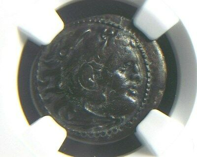 Authentic Greek coin of Alexander III The Great 336-323 BC, NGC Ch VF 5008
