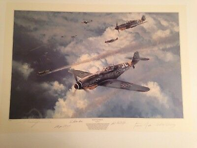 Robert Taylor Aviation Print Knight Of The Reich Eastern Front Edition