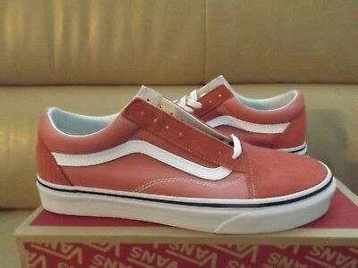 Vans Old Skool Women s Shoes Size 9.5 Faded Rose True White (VN0A38G1QSR)  NEW ce623f4b8