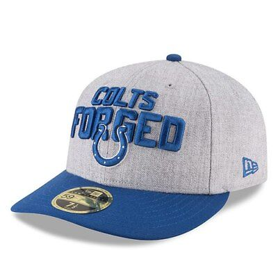 huge selection of 2649e d35fa Indianapolis Colts New Era 2018 NFL Draft Official On-Stage Low Profile  59FIFTY