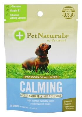 Pet Naturals of Vermont - Calming Treats For Dogs of All Sizes - 30 Chew(s)