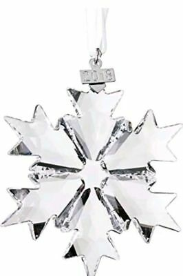 New Swarovski Annual Edition 2018 Christmas Ornament, Large, Clear Crystal