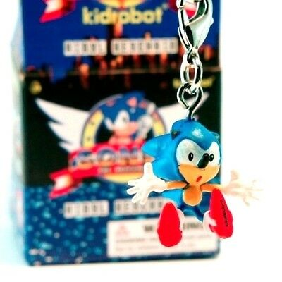 Sonic Hit Kidrobot Sonic The Hedgehog Vinyl Key Chain Mini Figure Designer Urban Vinyl Speelgoed En Spellen Srishtidigilife Co In