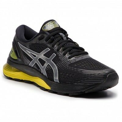 ASICS Men's GEL-Nimbus 21 in Black/Lemon spark size 11 NEW IN BOX