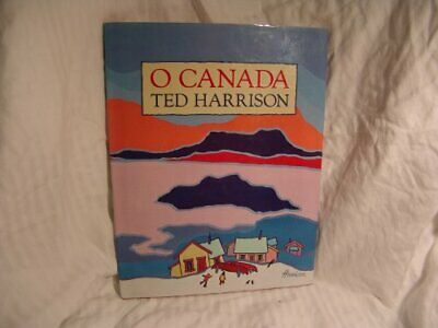 O Canada by Harrison, Ted Hardback Book The Cheap Fast Free Post