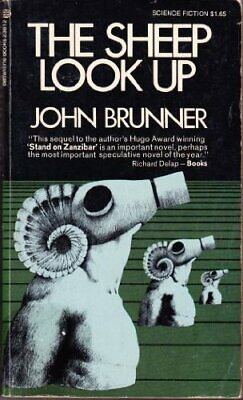 THE SHEEP LOOK UP by John Brunner Book The Cheap Fast Free Post