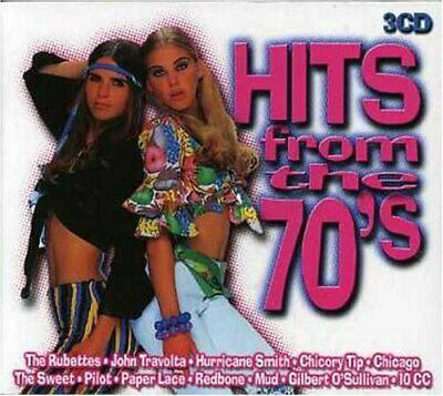 Various - Hits from the 70's - Various CD W3VG The Cheap Fast Free Post The