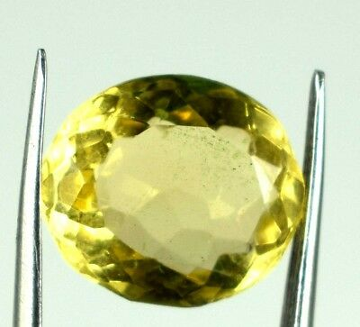 Topaz Gemstone 7.00 Ct Oval Yellow Golden 100% Natural AGSL Certified E3974