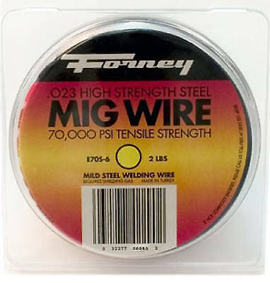 FORNEY INDUSTRIES INC MIG Wire, .024, 2-Lb. Spool 42290