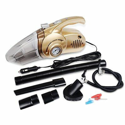 Car vacuum cleaner 12V light car wet and dry dual-use air pump four in one WAOX