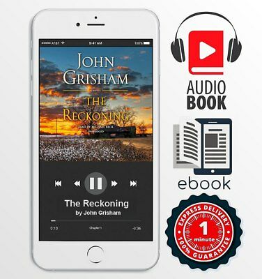 The Reckoning by John Grisham OFFICIAL(Audiobook + eBO0K) FAST 1 MINUTE DELIVERY