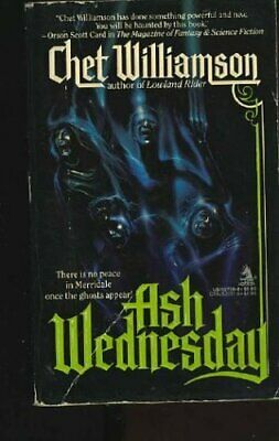 Ash Wednesday by Williamson Chet Book The Cheap Fast Free Post