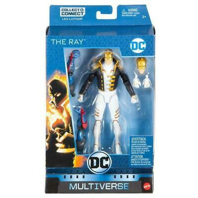 """Dc Multiverse The Ray Collect & Connect Lex Luther 6"""" Action Figure Toy"""