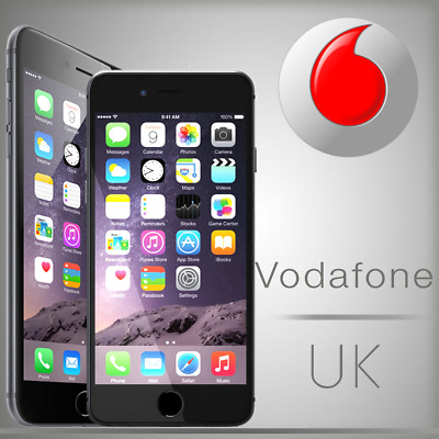 Factory Unlock Service For iPhone 4/5/6/7/8/X/XS Vodafone UK
