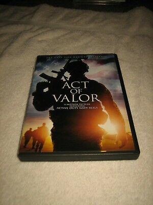 Act Of Valor Dvd😊📀 Featuring Active Duty Navy Seals