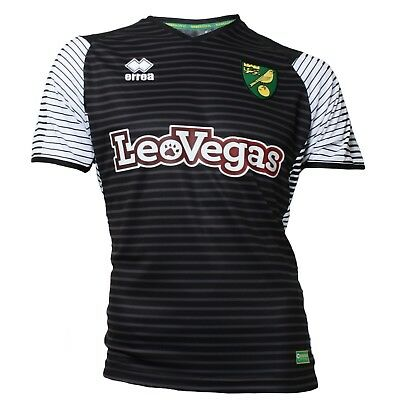 Official Norwich City Fc Replica Short Sleeve Away Shirt 2017-2018