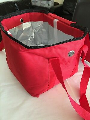 Heavy duty hot food delivery bag size W30 cm x H27 cm x D27 cm food delivery
